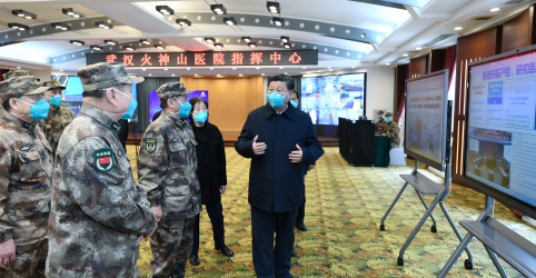 Xi visita Wuhan em marco de virada da China na luta contra o coronavírus