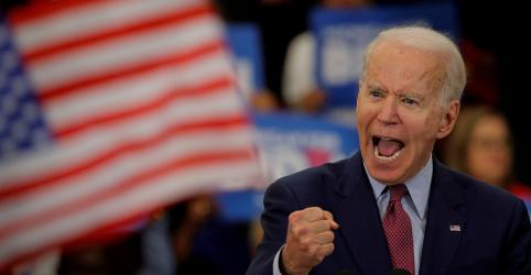 Placeholder - loading - Imagem da notícia Biden espera grande vitória no Michigan, e Sanders busca fôlego para continuar na disputa