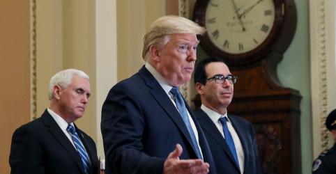 Placeholder - loading - Imagem da notícia Trump diz que coronavírus vai 'desaparecer'; pressão por alívio econômica aumenta