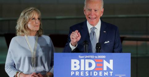 Biden pede união partidária após grandes vitórias no Michigan e três outros Estados