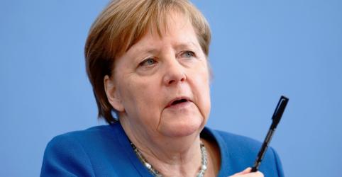 Placeholder - loading - Imagem da notícia Merkel alerta que dois terços dos alemães podem contrair coronavírus