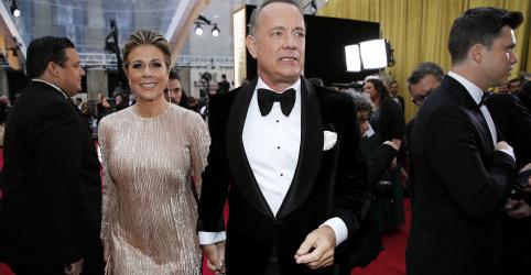 Placeholder - loading - Imagem da notícia Tom Hanks e esposa Rita Wilson são confirmados com coronavírus na Austrália