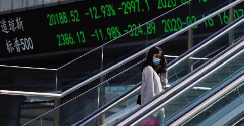 Placeholder - loading - Goldman vê economia da China afundando 9% no 1º trimestre devido ao coronavírus
