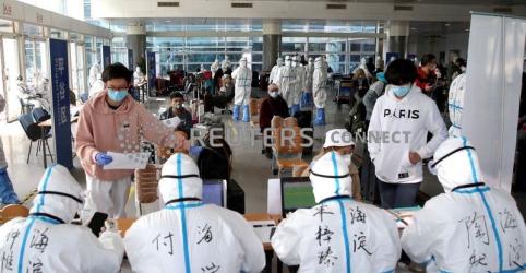 Novos casos importados de coronavírus atingem recorde na capital da China