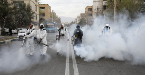 Placeholder - loading - Imagem da notícia EUA dizem ao Irã que coronavírus não poupará país de sanções