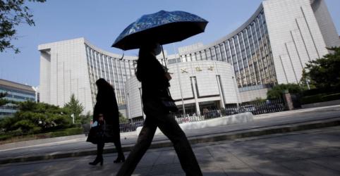 BC da China pede intenstificação da coordenação global de políticas econômicas