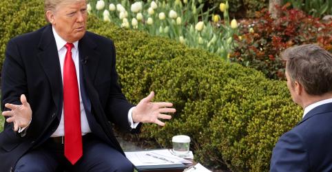Trump diz que restrições por coronavírus podem levar a milhares de mortes