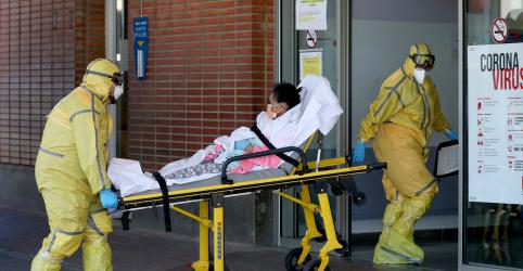 Placeholder - loading - Espanha relata mais 769 mortes por coronavírus, mas diz que aumento diário se estabiliza