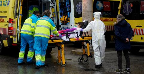 Espanha supera China em número de infecções do coronavírus