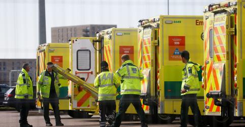 Placeholder - loading - Reino Unido registra mais 563 mortes por coronavírus e total ultrapassa 2.350