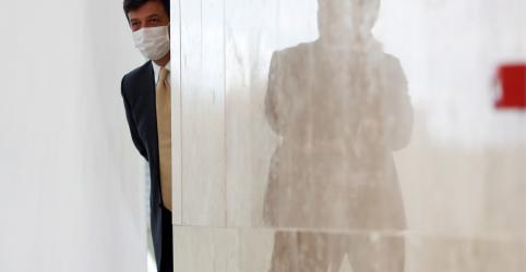 Brasil pode colaborar com EUA em produção de máscaras para coronavírus, diz Mandetta