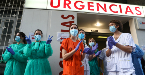 Placeholder - loading - Ritmo de mortes por novo coronavírus na Espanha se mantém em queda