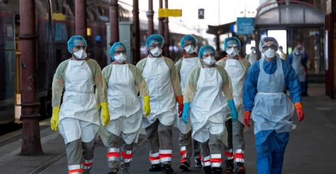 França é quarto país a ultrapassar marca de 10 mil mortes por coronavírus