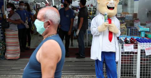 Brasil registra 2.105 casos novos de coronavírus; total de mortes chega a 1.924