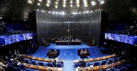 Placeholder - loading - Imagem da notícia Senado aprova PEC do orçamento de guerra em 2º turno