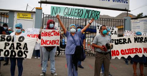 Placeholder - loading - Com pior estágio ainda por vir, Peru sofre pressão com 50 mil casos confirmados de Covid-19