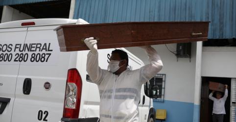 Placeholder - loading - Imagem da notícia Brasil tem recorde diário com 600 novas mortes por coronavírus e total se aproxima de 8 mil