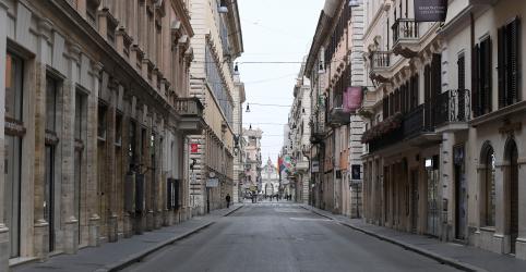 Impacto do vírus na economia italiana é exposto em previsões da UE