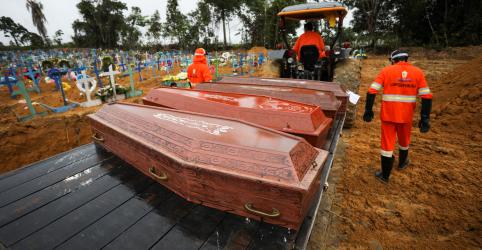 Placeholder - loading - Brasil registra mais 610 mortes por Covid-19 e total vai a 9.146; país supera 135 mil casos