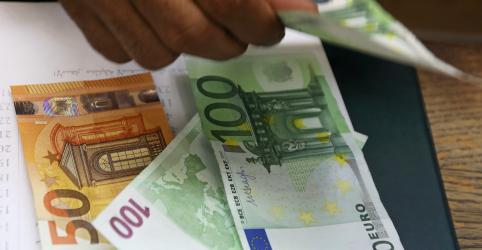 Placeholder - loading - Imagem da notícia Economia da zona do euro tem no 1º tri contração mais forte já registrada por coronavírus