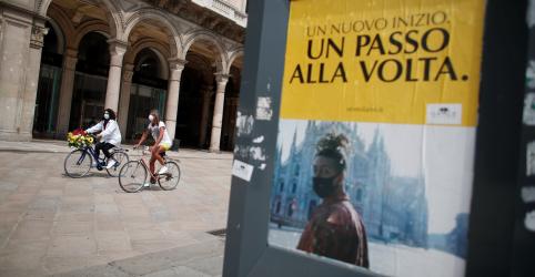 Primeiro-ministro da Itália diz que relaxamento do lockdown é risco calculado