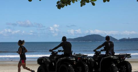 Placeholder - loading - Justiça restringe acesso a 5 municípios do litoral paulista durante feriados