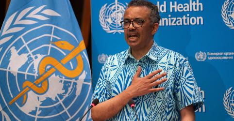 OMS trabalha 'dia e noite' para combater pandemia de Covid-19, diz diretor-geral
