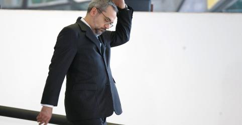 Placeholder - loading - Imagem da notícia Em reunião, Weintraub diz que botaria 'esses vagabundos todos na cadeia, começando no STF'