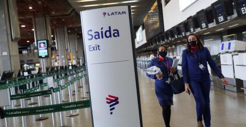 Placeholder - loading - Imagem da notícia Latam Airlines faz pedido de recuperação judicial, não inclui Brasil
