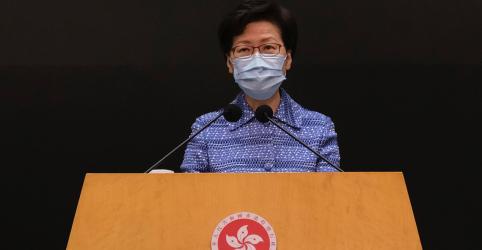 Placeholder - loading - Líder de Hong Kong diz que nova lei de segurança não diminuirá liberdades