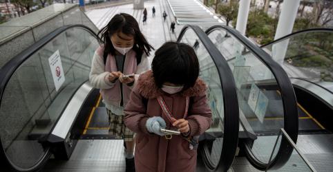Placeholder - loading - Máscaras são perigosas demais para crianças com menos de 2 anos, diz grupo médico do Japão