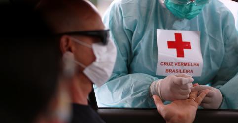 Placeholder - loading - Brasil realiza menos de 10% de testes de Covid-19 entregues ao Ministério da Saúde