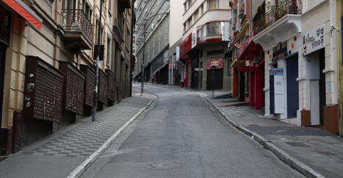 Placeholder - loading - Imagem da notícia São Paulo continua em quarentena apesar de afrouxamento para abertura de negócios, diz prefeito
