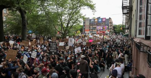 Placeholder - loading - Maioria nos EUA simpatiza com protestos e reprova resposta de Trump, diz pesquisa