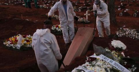 Placeholder - loading - Brasil chega a 32.548 mortes por Covid-19, em 2º recorde diário consecutivo de óbitos no país