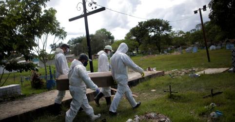 Placeholder - loading - Imagem da notícia Brasil registra mais 1.274 mortes por Covid-19 e se aproxima de 40 mil óbitos