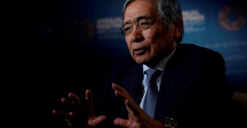 Placeholder - loading - Presidente do BC do Japão alerta para batalha prolongada contra pandemia; mantém política monetária