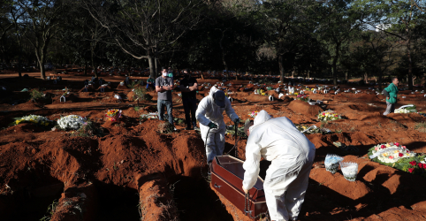 Placeholder - loading - Imagem da notícia Estado de SP tem novo recorde de casos e mortes causadas por Covid-19