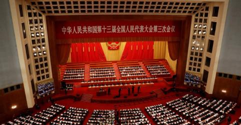 Placeholder - loading - Imagem da notícia Projeto de lei de segurança para Hong Kong será apresentado ao Parlamento chinês