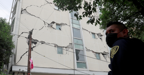 Placeholder - loading - Imagem da notícia Forte terremoto atinge sul do México e deixa ao menos 6 mortos