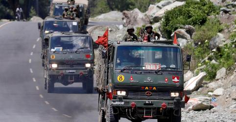 Placeholder - loading - Imagem da notícia Ministério da Defesa da China diz que confronto recente na fronteira foi causado pela Índia