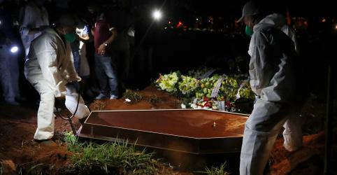 Placeholder - loading - Mortes por Covid-19 no Brasil devem passar de 166 mil até outubro; América Latina pode chegar a quase 390 mil