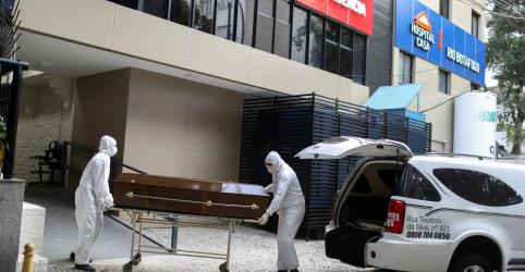 Placeholder - loading - Imagem da notícia Brasil registra 39.483 novos casos de Covid-19 e mais 1.141 mortes