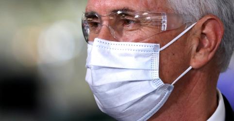 Placeholder - loading - Líderes republicanos contrariam Trump e defendem uso de máscara contra Covid-19