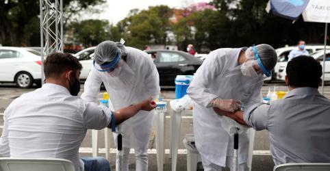 Placeholder - loading - Doria vê mudança da curva da pandemia em São Paulo, diz que Estado está perto do platô