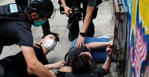 Placeholder - loading - Reino Unido diz que lei de segurança chinesa para Hong Kong é violação grave de tratado