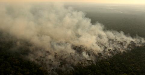 Placeholder - loading - Focos de incêndio aumentam na Amazônia brasileira em junho e criam temor sobre estação seca