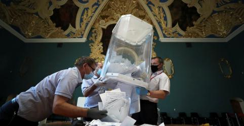 Placeholder - loading - Russos concedem a Putin direito de permanecer no poder até 2036, mostram resultados parciais