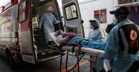Placeholder - loading - Imagem da notícia Brasil registra mais 620 mortes por Covid-19 e chega a 65.487 óbitos