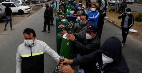 Placeholder - loading - Imagem da notícia Número de mortos por coronavírus na América Latina passa de 130 mil, mostra contagem da Reuters